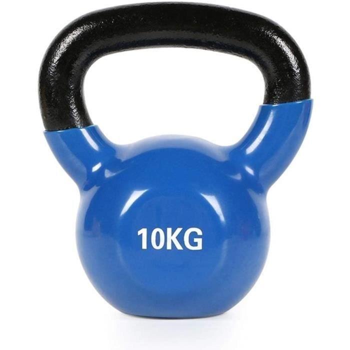 Kettlebells AGYH Fonte, Appareils De Musculation for Fitness, 4 Kg - 6 Kg - 8 Kg - 10 Kg - 12 Kg - 14 Kg - 16 Kg (Size : 10kg-2279