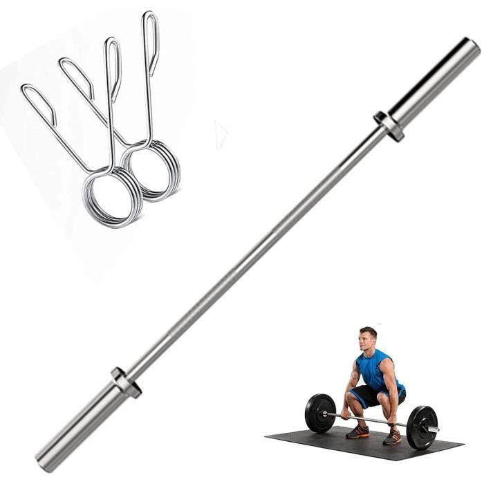 Bar olympique, olympique professionnel Barbell Bar, Bar formation, haltère Barres standard 50 mm Hanging zone, 47,2 pouces de l[33]