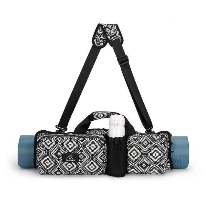 Tapis de sol,Sac de yoga imperméable à bandoulière et de grande contenance pour femme,idéal pour aller au sport, à - Type 1-46x27cm