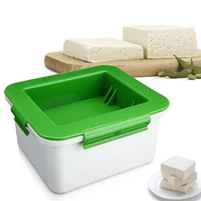 Lot Ustensiles,Tofu presse enlève l'eau du Tofu facilement, Design de Style boîte sans gâchis, fait du Tofu ferme, pour la cuisine
