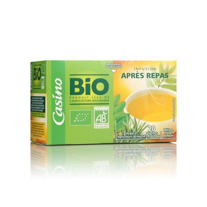 Infusion Après le Repas - Mélisse Freine Romarin - Bio - 30 g