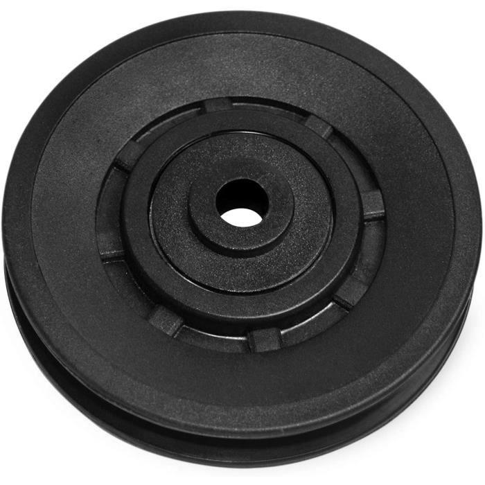 KYLIN SPORT 90mm Roulement Poulie Nylon Roue de Câble Poulie Universelle pour appareils Gym Fitness