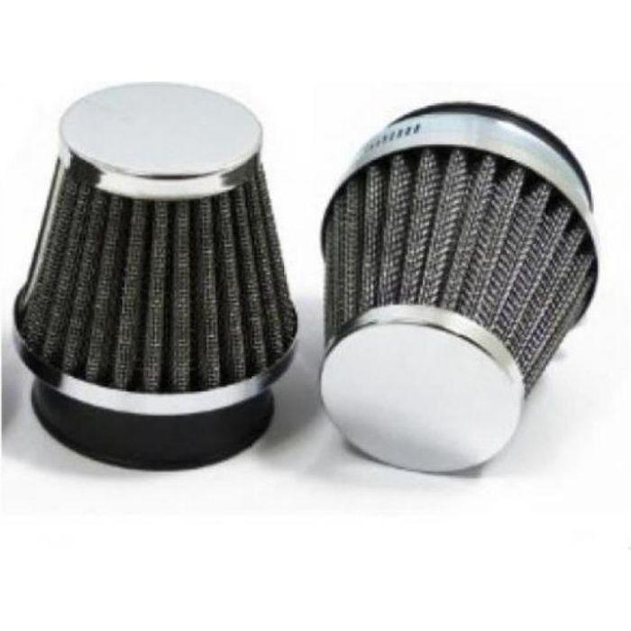 Filtre à air MAD pour cc de a 02264 etat Cornet de filtre a air chromé type K & N diamètre 41 / 42 / 43 mm vendu à l'unit...