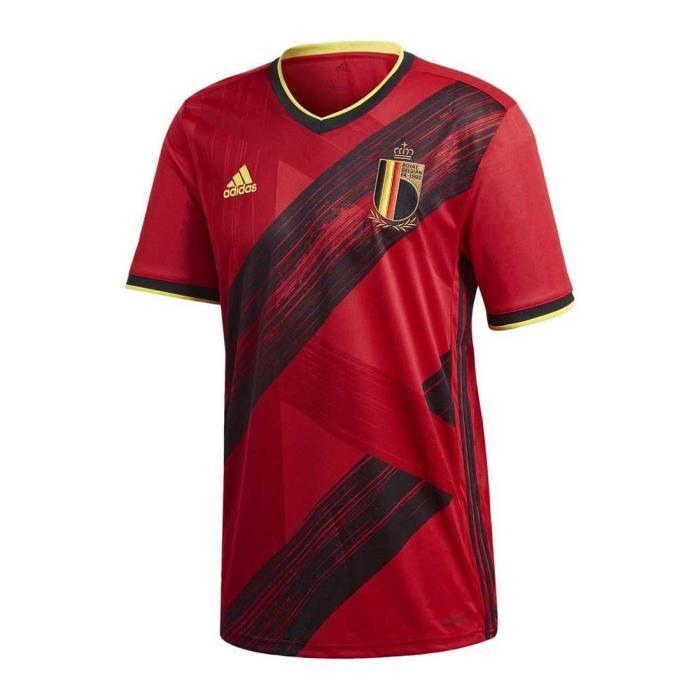 Maillot Adidas Belgique Domicile rouge homme