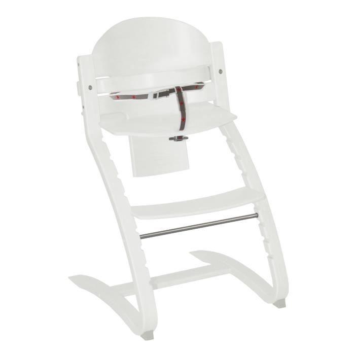 roba Chaise haute évolutive Move Up avec marches Blanc