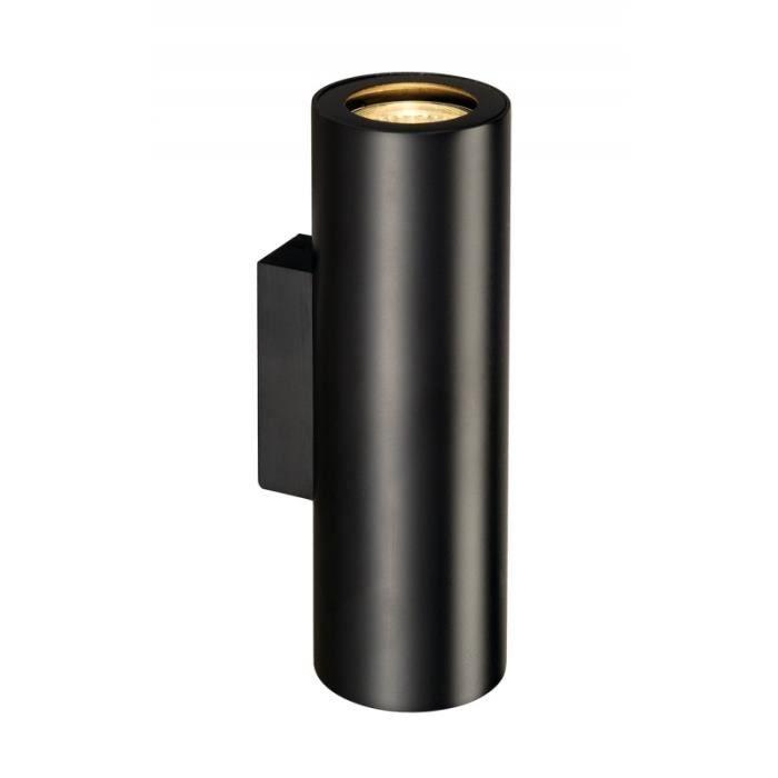 ENOLA_B UP DOWN applique, noir, 2x GU10, max. 50W