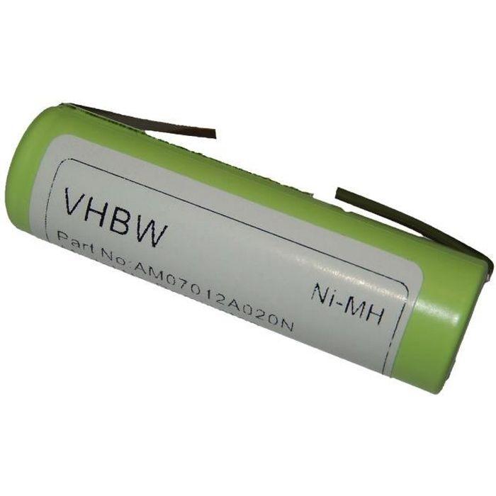 Batterie de remplacement pour rasoir de Remington, Ermila, Wahl, Panasonic, Moser. Braun Silk Epil, Onys Aesculap, etc. - Remplac…