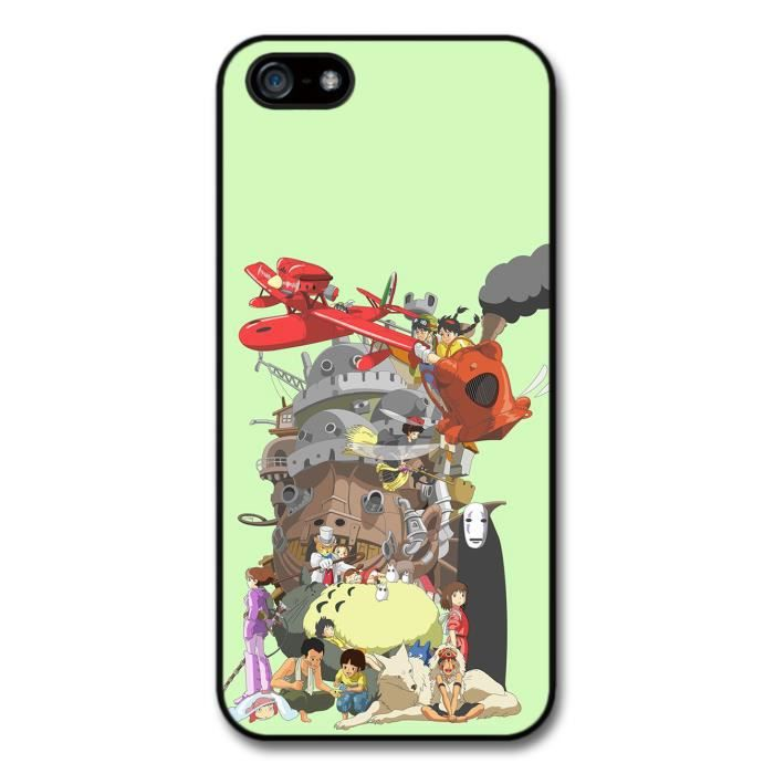 Miyazaki Characters Howl Moving Castle Totoro Red Planes Collage ...