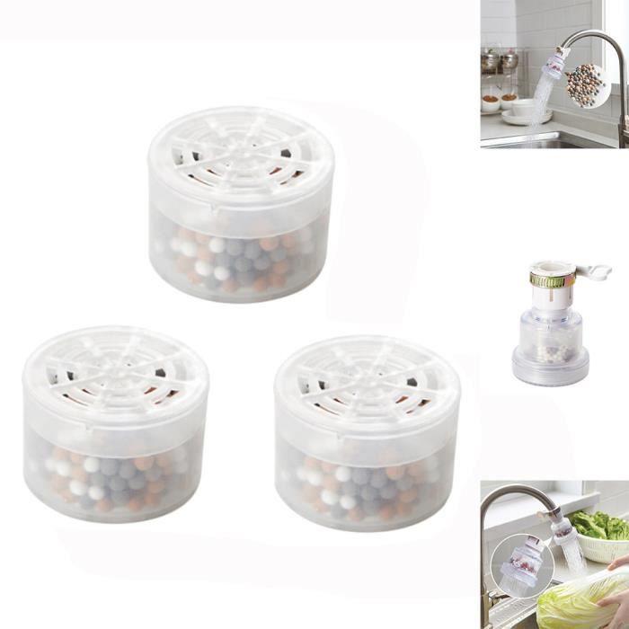 3 pièces de remplacement de machine à eau pure de cartouche de filtre à eau