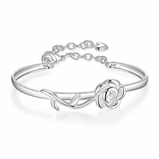 bracelet femme fleur