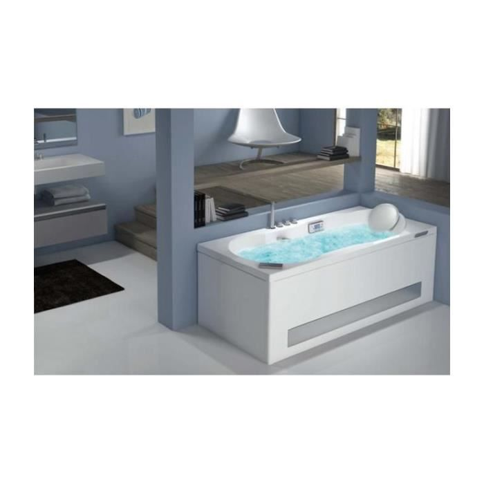 Baignoire rectangulaire air color dimension 170x70x43 5 cm for Dimension baignoire rectangulaire