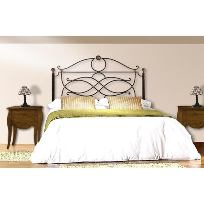 t te de lit en fer forg mod le consuelo achat. Black Bedroom Furniture Sets. Home Design Ideas