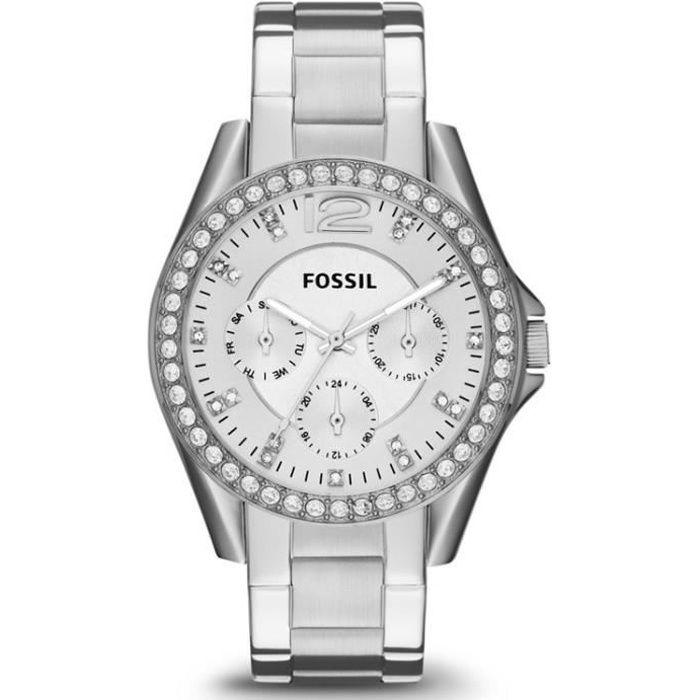 MONTRE Montre femme FOSSIL RILEY ES3202. Fashion. Date. 5