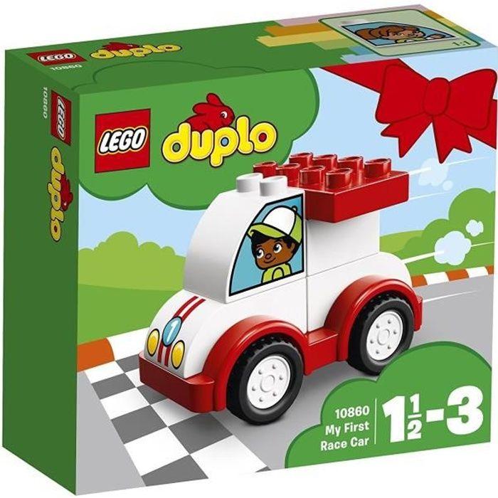 ASSEMBLAGE CONSTRUCTION LEGO® DUPLO® 10860 Ma première voiture de course