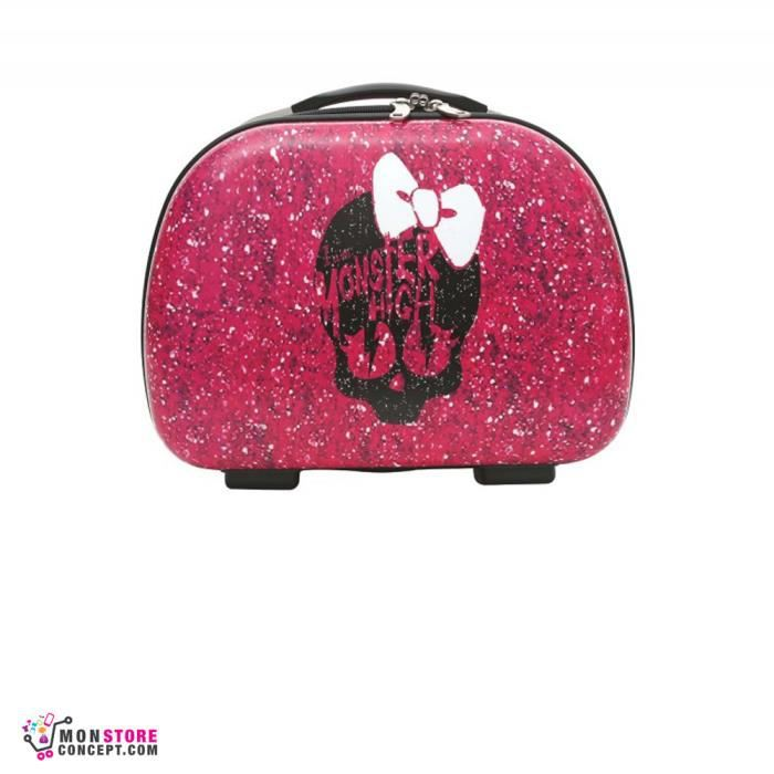 valise bagage monster high vanity rose