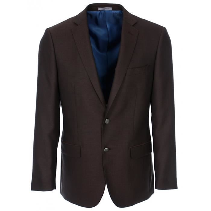 bruce field blazer homme droit marron achat vente costume tailleur cdiscount. Black Bedroom Furniture Sets. Home Design Ideas