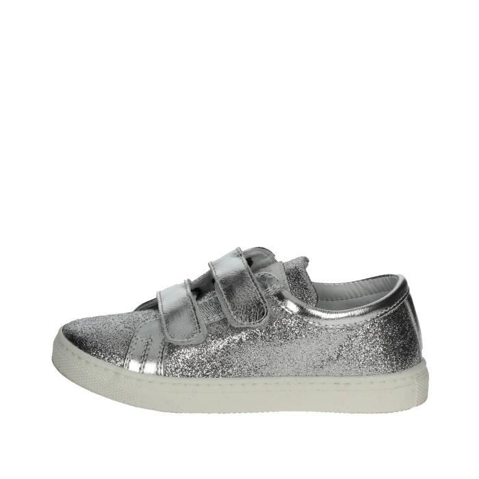 Ciao Bimbi Petite Sneakers Fille Argent , 27