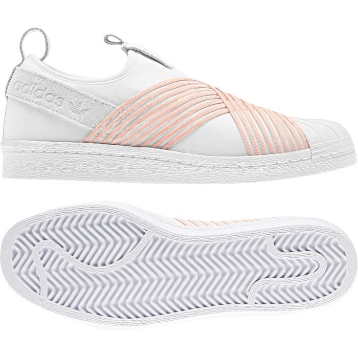 adidas superstar femme orange