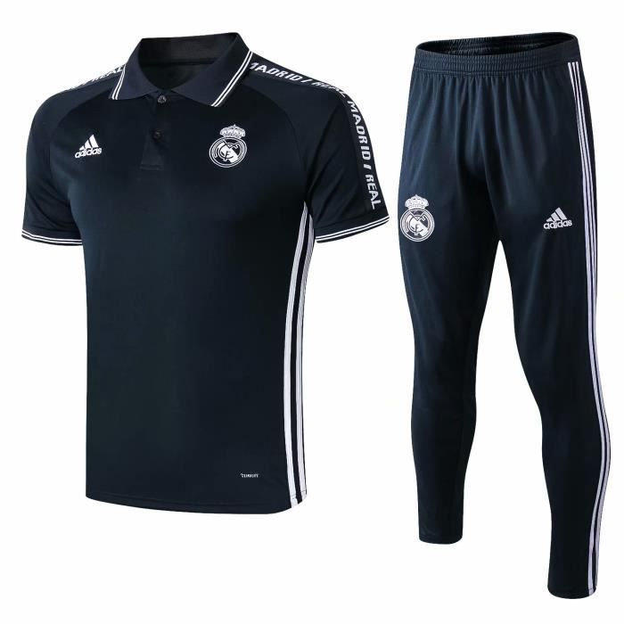 42d74b764cb2 Polo Real Madrid 19/20 Homme Polos + Pantalons Adulte Suit. - Prix ...