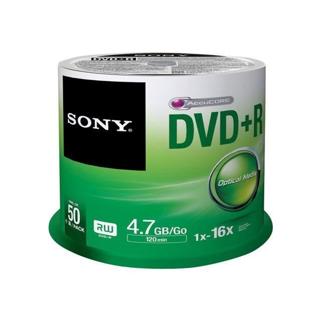 dvd vierge sony 50dpr47sp dvd r x 50 4 7 go prix pas cher cdiscount. Black Bedroom Furniture Sets. Home Design Ideas