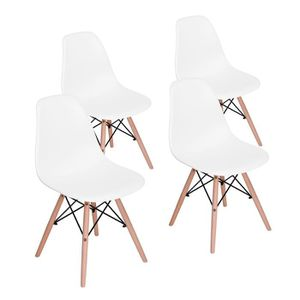 CHAISE JKK Lot de 4 chaises Scandinave design La mode Sal