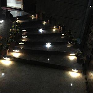 ECLAIRAGE DE MEUBLE ouniondo® 4 LED lumière solaire lumières de comman