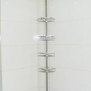 COLONNE - ARMOIRE SDB Design étagère de douche en acier inoxydable Etagè