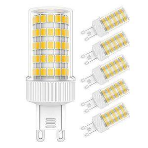 AMPOULE - LED Ampoule LED G9, 10W Blanc Chaud 3000K,AC 220-240V,