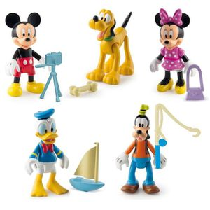 FIGURINE - PERSONNAGE MICKEY Pack De 5 Figurines