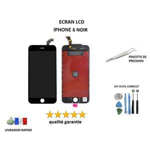 ECRAN DE TÉLÉPHONE Écran LCD remplacement iPhone 6 4.7 NOIR retina, s