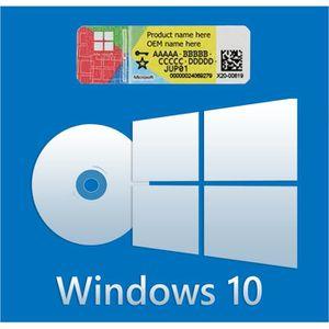 SYSTÈME D'EXPLOITATION Windows 10  Dvd version Home 64 bits