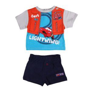 Ensemble de vêtements Disney Cars - ensemble deux pièces - bébé garçon -