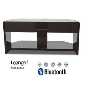 meuble tv enceinte integre achat vente meuble tv enceinte integre pas cher soldes cdiscount. Black Bedroom Furniture Sets. Home Design Ideas