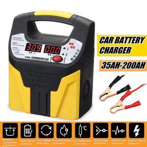 CHARGEUR DE BATTERIE Chargeur Batterie De Voiture Et Moto 12V24V Micro-