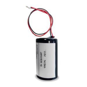 BATTERIE D'ALARME Visonic - Pile pour sirène alarme MCS-710/720/730