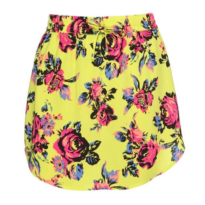 RUSTY Mini-jupe Blush - Femme - Jaune