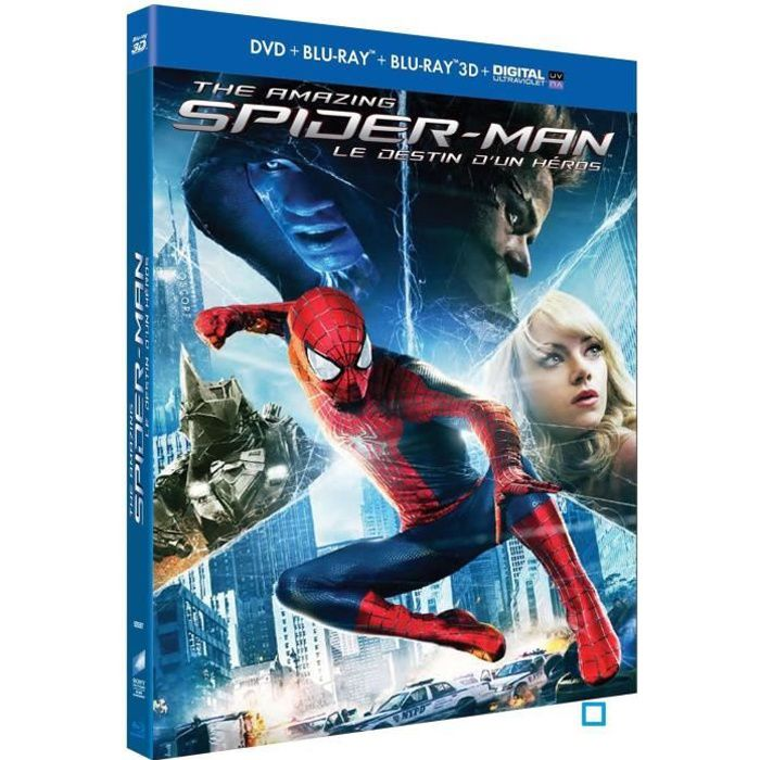 BLU-RAY FILM Blu-Ray 3D The Amazing Spider-Man 2 : Le destin d'