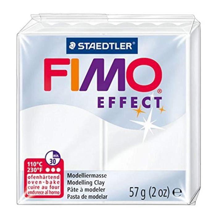 Jeu De Coloriage MX5HT Staedtler Fimo Effet 8020-014 Four Durcissement Pâte à modeler 56g - Translucide