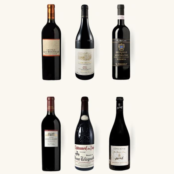 Sélection prestige - Nos 6 plus grands vins