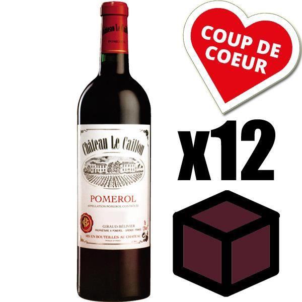 X12 Château Le Caillou 2006 Rouge 75 cl AOC Pomerol Vin Rouge