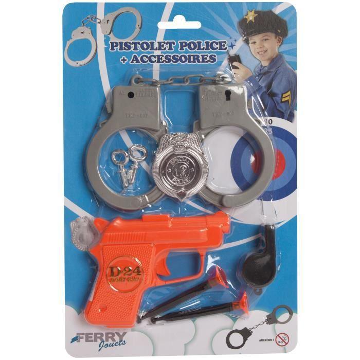Pistolet De Police + Accessoires