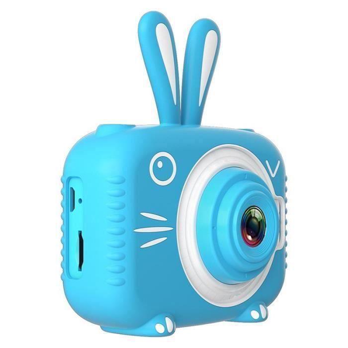 Appareil Photo Enfants 1080P Numérique Caméra Enfant De Jeu Vidéo Photo 20 Millions de Pixels Mini Caméra Enfants-Bleu BB8