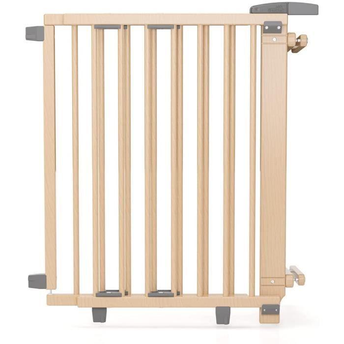 Geuther, EASYLOCK 2733+, Barrière de sécurite pivotante pour escalier, Naturel, 67 cm A147