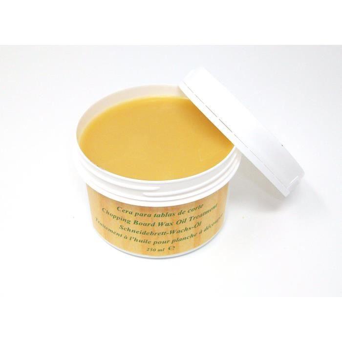 CERYLAC Soin à l'huile pour tous les Planches à Découper, Bloc Boucher et les Accessoires de Cuisine en Bois et en Bambou. Respec