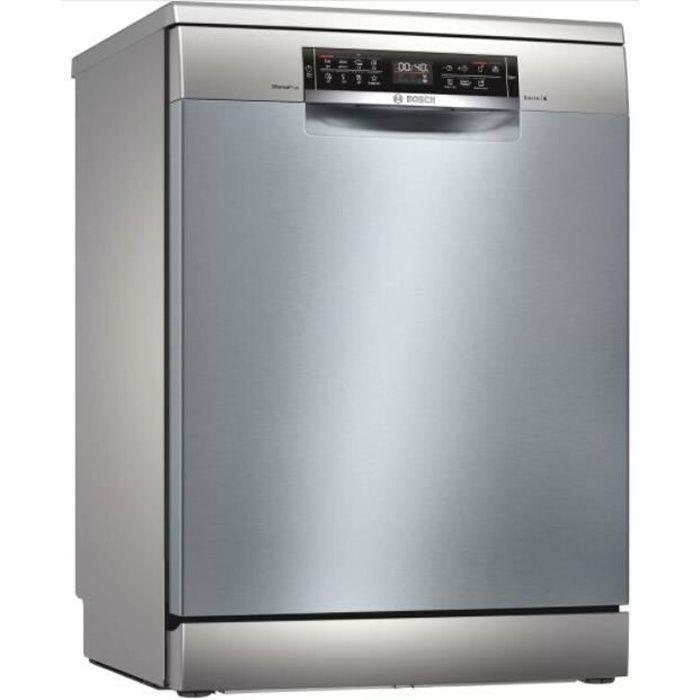 Lave vaisselle 60 cm BOSCH SMS6ECI93E Inox