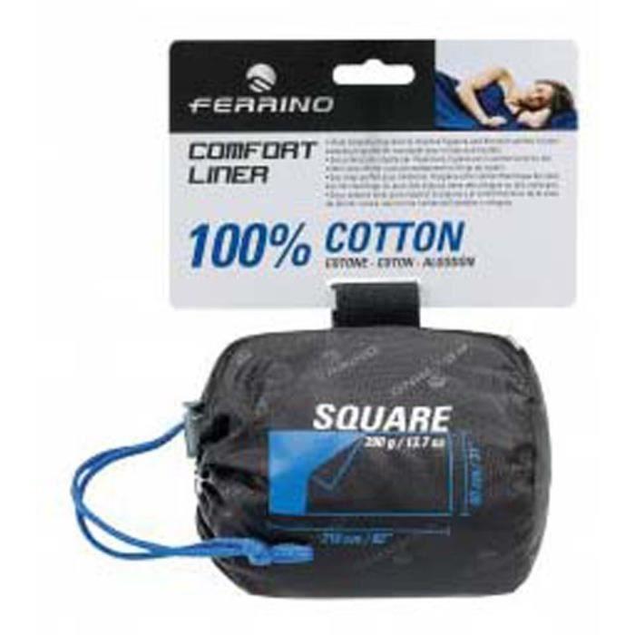 Accessoires Ferrino Comfort Sq - Taille : 210 x 80 cm - Couleur marketing : Blue