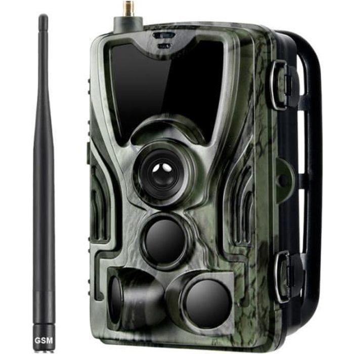 Caméra de chasse Caméra de suivi SMS - MMS - SMTP Pièges photo 0,3 s Déclencheur de temps Piège Wild Hunter Photo