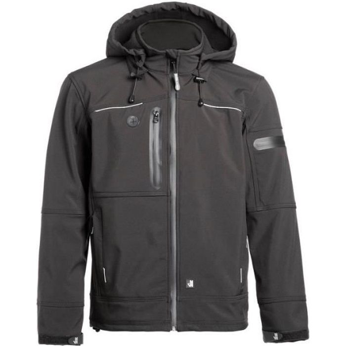 Veste de travail homme softshell FLORES - NORTH WAYS