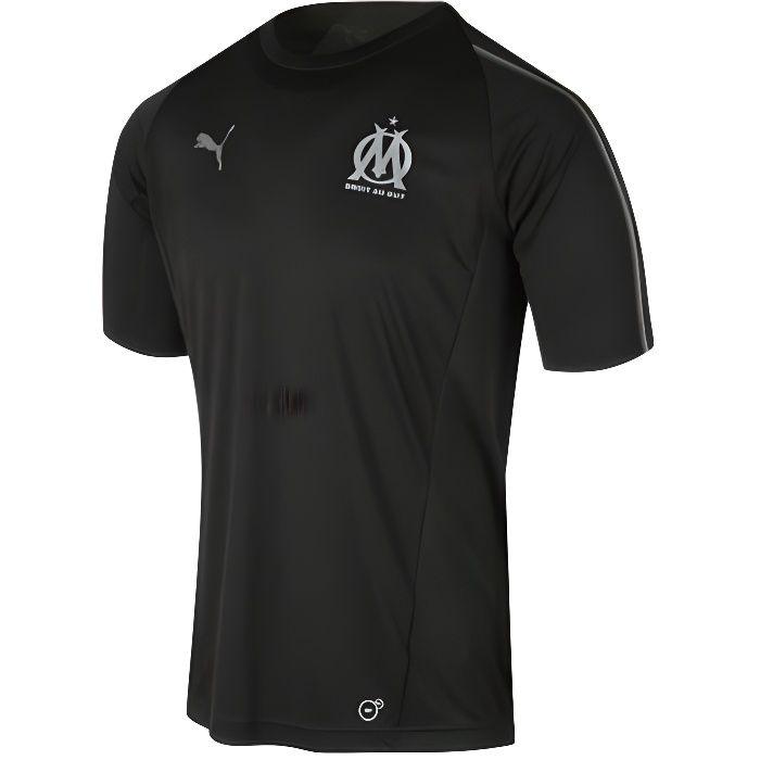 Maillot Training noir Olympique de Marseille 2018-2019 puma