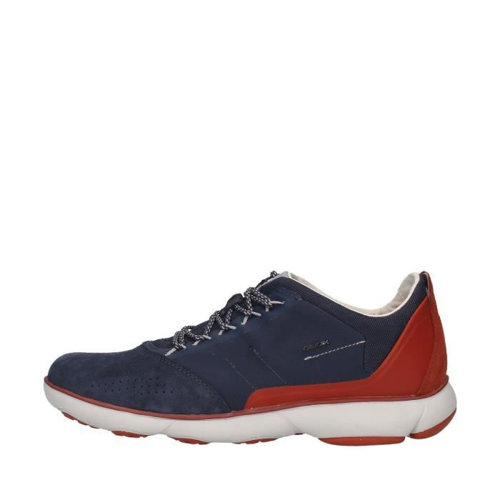 Geox U94D7C01122 chaussures de tennis faible homme BLEU